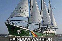Oryginalny Rainbow Warrior.