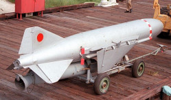 Rakieta P-21 będąca elementem wyposażenia Tarantul.