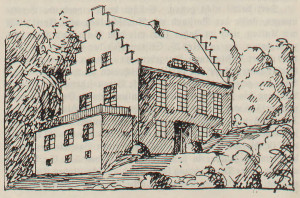 Budynek korporacji studenckiej Cymbria z 1925 r.