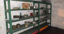 Część schronów nie będzie udostępniona dla zwiedzających. Na zdjęciu wnętrze obiektu pod TOS-em w Leszczynkach przy okazji dnia otwartego.