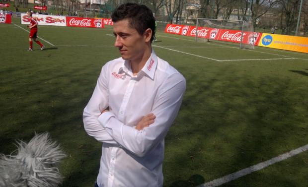 Robert Lewandowski po raz kolejny odwiedzi Trójmiasto jako ambasador Coca-Cola Cup.