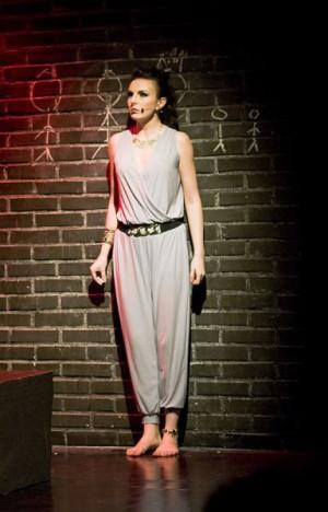Milena Kanabus jako Medea ujawnia duży potencjał wokalny i aktorski.