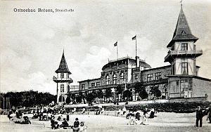 Hala Brzegowa: na początku XX wieku...