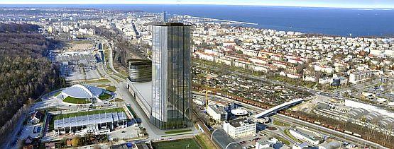 Kompleks Panorama stanie pomiędzy Halą Gdynia a kompleksem biurowym Łużycka Office Park.