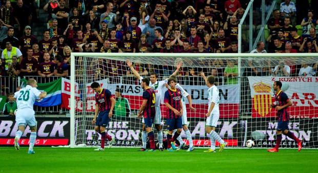 Mecz Lechia - Barcelona przyciągnął na trybuny 30 tys. widzów. Czy Benfica jest w stanie zapewnił podobną frekwencję?