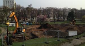 Budowa skateparku jest prowadzona od początku kwietnia, w głównej mierze przez firmę z Czech.
