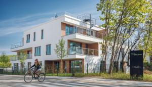 Nowe Orłowo. Miejskie wille z tarasami dachowymi komponują się z jedną z najbardziej pożądanych do mieszkania w Trójmieście lokalizacji.