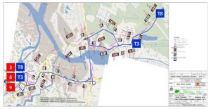 Organizacja autobusowej komunikacji zastępczej podczas prac torowych, które wymuszą zamknięcie Mostu Siennickiego.