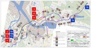 Organizacja autobusowej komunikacji zastępczej w sytuacji, gdy tramwajom zostanie zapewniony dojazd do pętli Przeróbka.