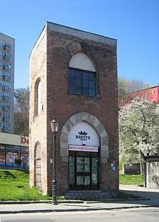 Pozostałość dawnego Kościoła Salwatora.