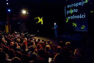 Europejskiego Poetę Wolności poznaliśmy na uroczystej gali w Teatrze Wybrzeże.