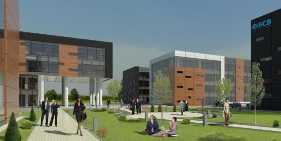 Cały kompleks biurowy gotowy będzie w 2015 roku.
