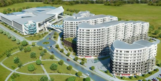 AquaSfera to projekt parku wodnego wraz z osiedlem mieszkaniowym, który powstanie w Redzie, tuż przy granicy z Rumią.