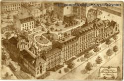 Szpitalny kompleks na Dolnym Mieście.