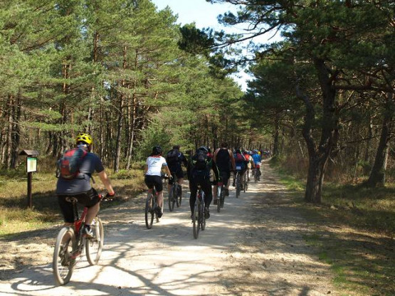 Migawki z wycieczki trasą rowerową Północnych Kaszub