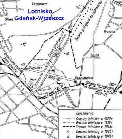 Historia rozwoju lotniska na dzisiejszej Zaspie.