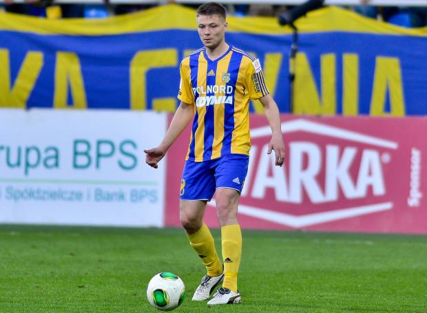 Kamil Juraszek w 22. minucie meczu w Stróżach dał Arce prowadzenie. Niestety, gdynianie nie zdołali utrzymać go do końca spotkania i praktycznie przekreślili szanse na awans do ekstraklasy.