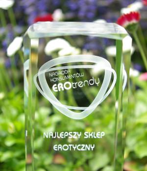 Sklep Kinky Winky został wyróżniony głosami konsumentów i przyznano mu miano najlepszego sklepu erotycznego w Polsce.