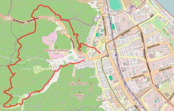 Kliknij na mapę i zobacz szczegóły naszej trasy oraz ślad GPS