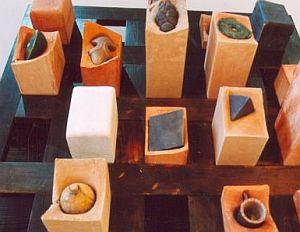 Praca dyplomowa Marcina Grzędy prezentowana w nowo otwartej galerii ASP.
