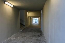 Wnętrze tunelu zostało także odświeżone i objęte systemem monitoringu.