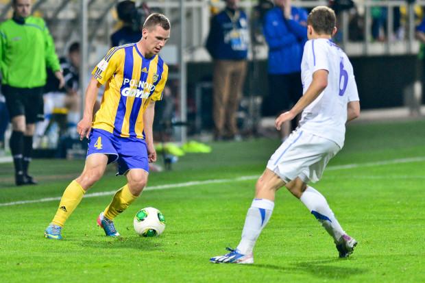 Robert Sulewski w I lidze przebywał na boisku niewiele ponad godzinę, a zdążył zaliczyć asystę i gola, które przesądziły o zwycięstwach Arki w dwóch ostatnich meczach.