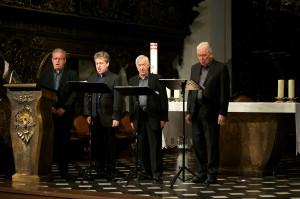 Hilliard Ensemble najlepiej brzmiało w kompozycjach muzyki dawnej.