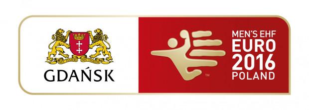 Logo Gdańska jako miasta gospodarza Euro 2016.