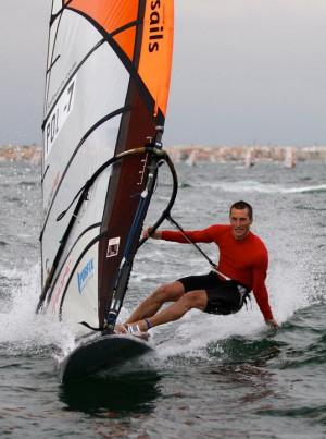 Maksymilian Wójcik jest faworytem regat o mistrzostwo Europy w klasie Raceboard.