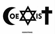 Coexist - najsłynniejsza z prac Piotra Młodożeńca.