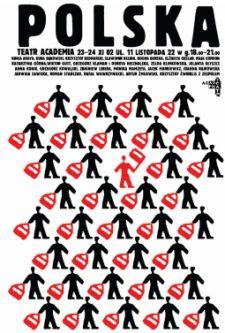 Maksymalna lapidarność komunikatu i prosta forma - to znaki rozpoznawcze plakatów Piotra Młodożeńca.