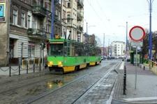 W Poznaniu zdecydowano się zbudować nową trasę tramwajową kosztem ograniczeń dla ruchu samochodów.