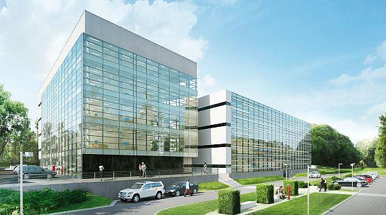 Budynek biurowy Opera będzie przeznaczony dla małych i średnich przedsiębiorców.