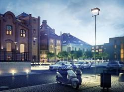 Istniejące na terenie browaru budynki zostaną zachowane i zrewitalizowane.