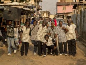 Sierra Leone's Refuge All Stars tworzą muzycy, którzy poznali się w obozie dla uchodźców.
