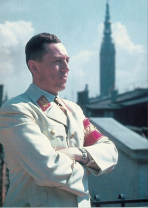 Albert Forster, zbrodniarz wojenny, przywódca NSDAP w Gdańsku. Choć od jego śmierci minęło ponad 60 lat, wciąż nie wiemy jak i gdzie zginął.