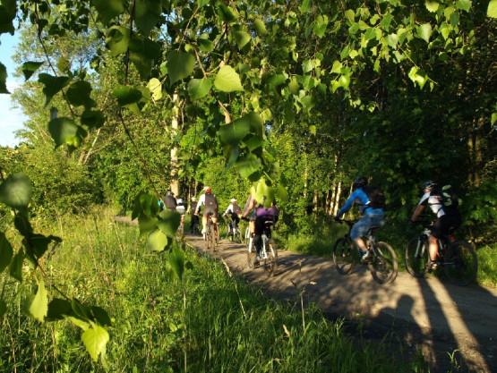 Migawki z wycieczki rowerowej, w środku tygodnia po pracy, zorganizowanej przez GR3miasto. Tym razem celem był Szlak Bursztynowy