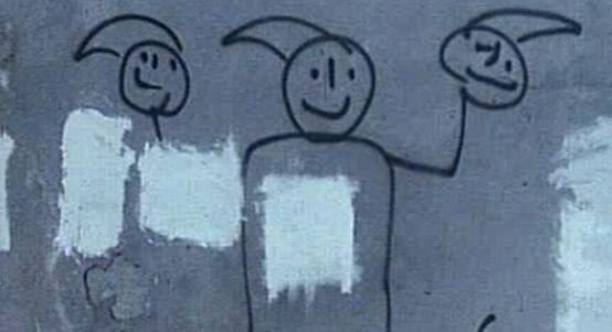 Wszędzie tam, gdzie Milicja Obywatelska niszczyła wolnościowe grafitti, pojawiały się krasnoludki, które stały się symbolem Pomarańczowej Alternatywy