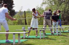 Strzelnica golfowa to dobre miejsce dla początkujących.