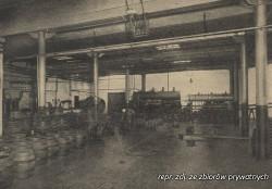 Beczki w hali gdańskiego browaru.