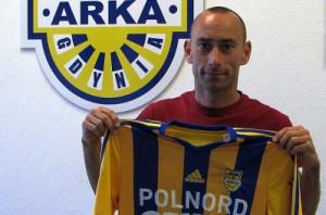 Bartosz Ława po podpisaniu kolejnego kontraktu w Gdyni.