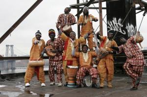 Sierra Leone Refugees All Stars to grupa muzyczna, która powstała w obozie dla uchodźców w Gwinei.