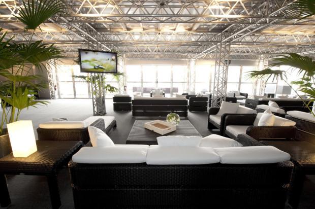 Sky Lounge wyścigów Red Bull Air Race reprezentuje światowy poziom.