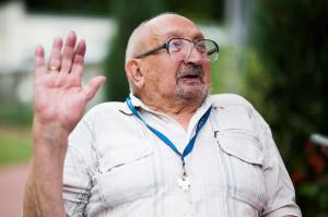 Lech Czajka ps. Lech, walczył w oddziale Baszta Armii Krajowej na Mokotowie. Dziś mieszka w Domu Pomocy Społecznej w Sopocie.