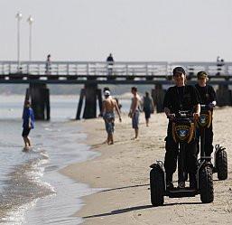 Segway ma służyć głównie do patrolowania sopockiej plaży