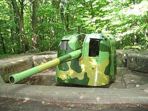 Baterie artyleryjskie zostały przystosowane do zwiedzania.