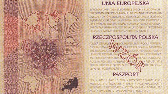 Wygląd nowych paszportów nie ulegnie zmianie. Cyfrowe odciski palców będą zakodowane w okładce.