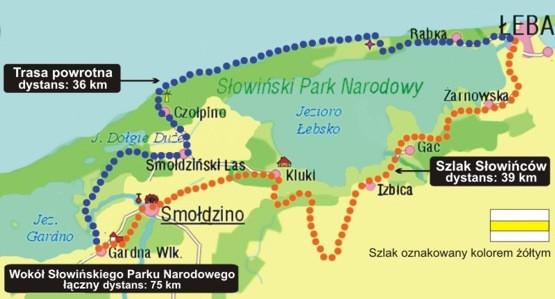 Zarys naszej trasy ;)