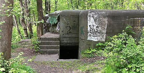 Zasypany kanonier miał spędzić kilka-kilkanaście miesięcy w zburzonym bunkrze na terenie Brzeźna, choć jego literacki odpowiednik został uwolniony z ruin fortu w Babich Dołach.