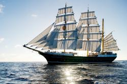 Jeden z najbardziej charakterystycznych żaglowców świata, wyróżniający się zielonym kadłubem Alexander von Humboldt II, przypłynął do Gdyni po raz pierwszy.
